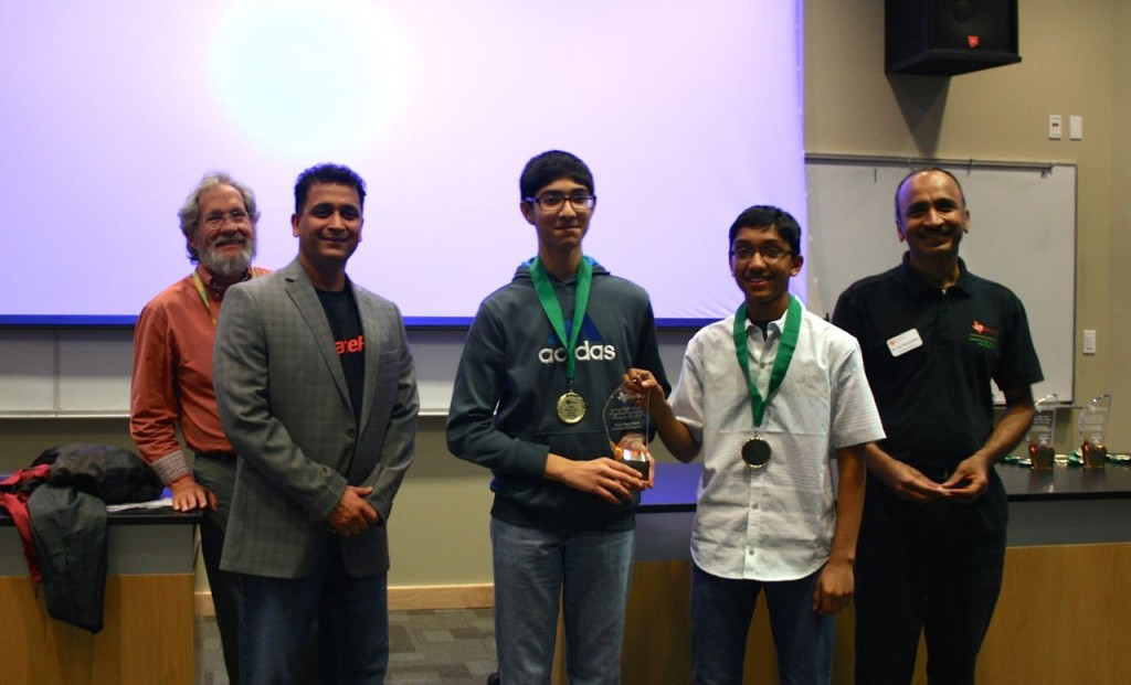 Third Place Novice - Heritage High School - Six problems solved in 443 minutes