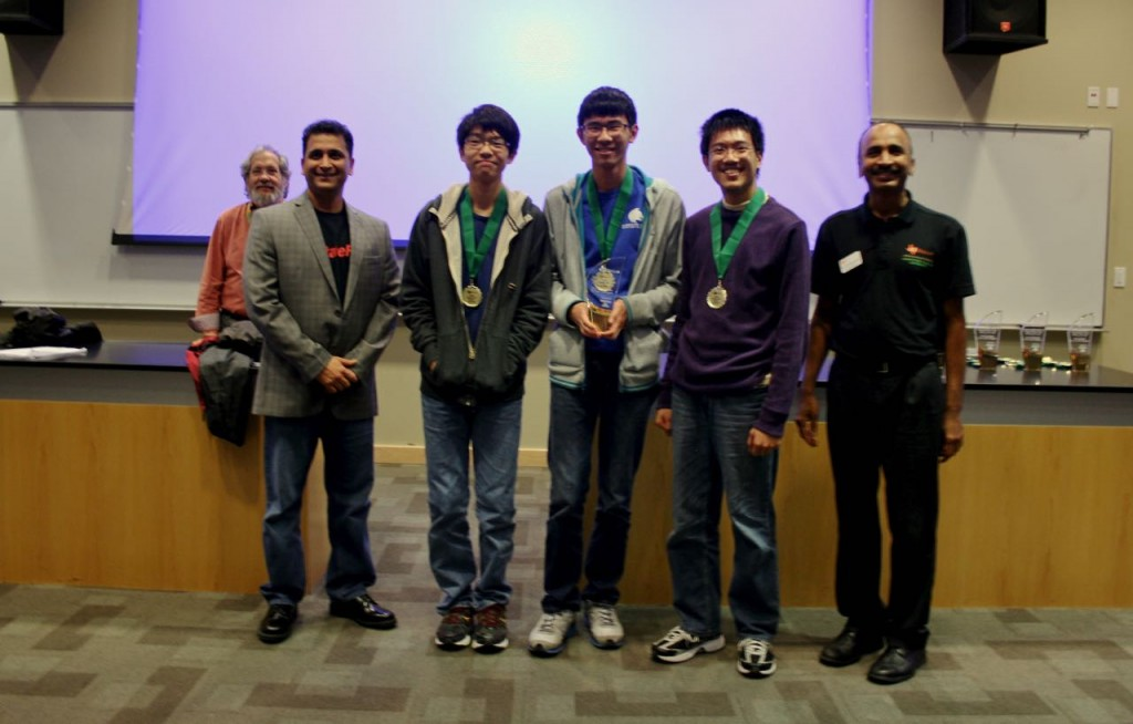 Second Place Novice - Plano West - Six problems solved in 347 minutes