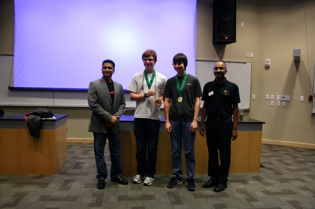 First Place Novice - Highland Park - All eight problems solved in 745 minutes