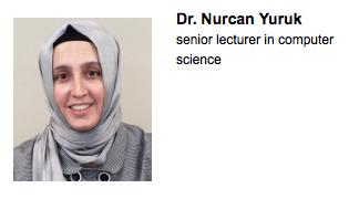 Dr. Nurcan Yuruk faculty award 2015
