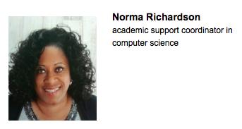 Staff award norma richardson 2015