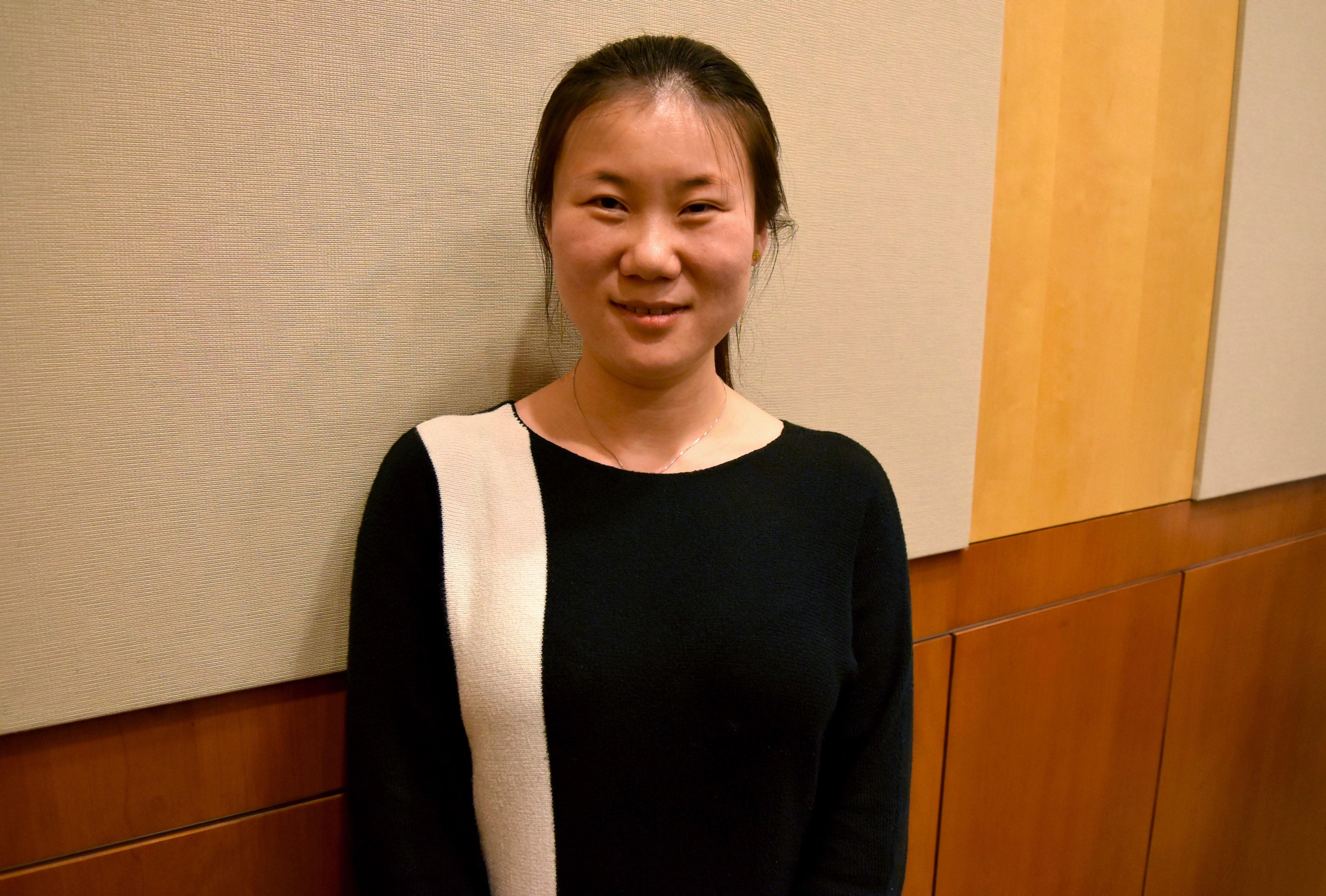 Dr. Ranran Feng Nov 2015 Grace Series