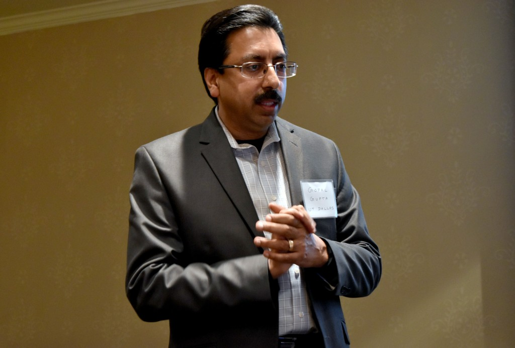 Dr. Gopal Gupta, UT Dallas Computer Science department head.