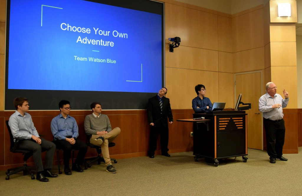 "Dr. Chris Davis and the ""Choose Your Own Adventure"" team."