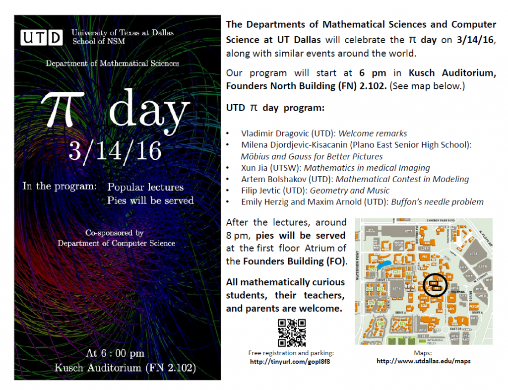 Pi Day 2016 Flyer