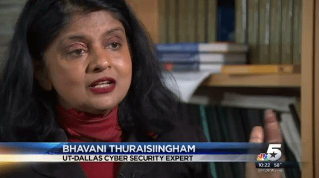 Dr. Bhavani Thuraisingham NBCDFW