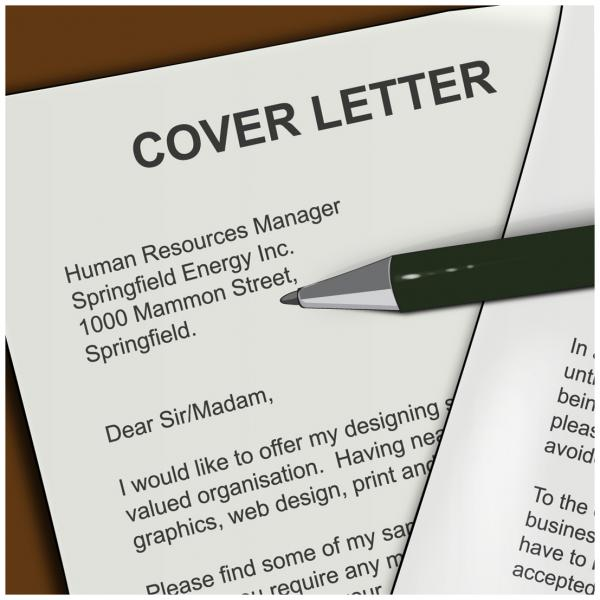 creating a cover letter for your job search. Resume Example. Resume CV Cover Letter