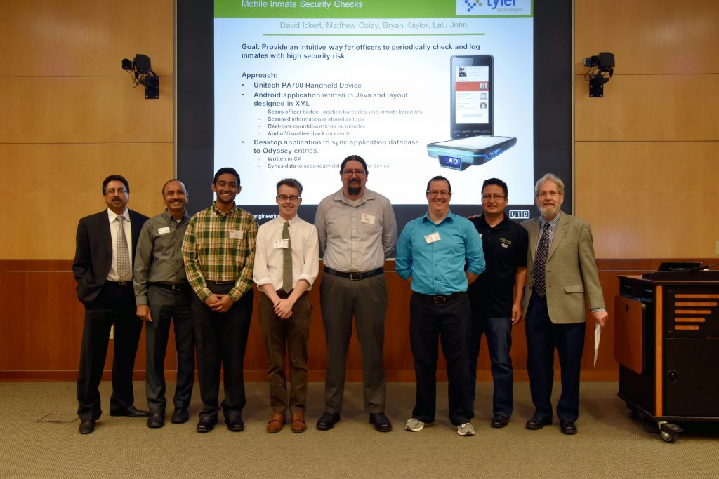 Third Place Team – Tyler Technologies – Mobile Inmate Security Checks –