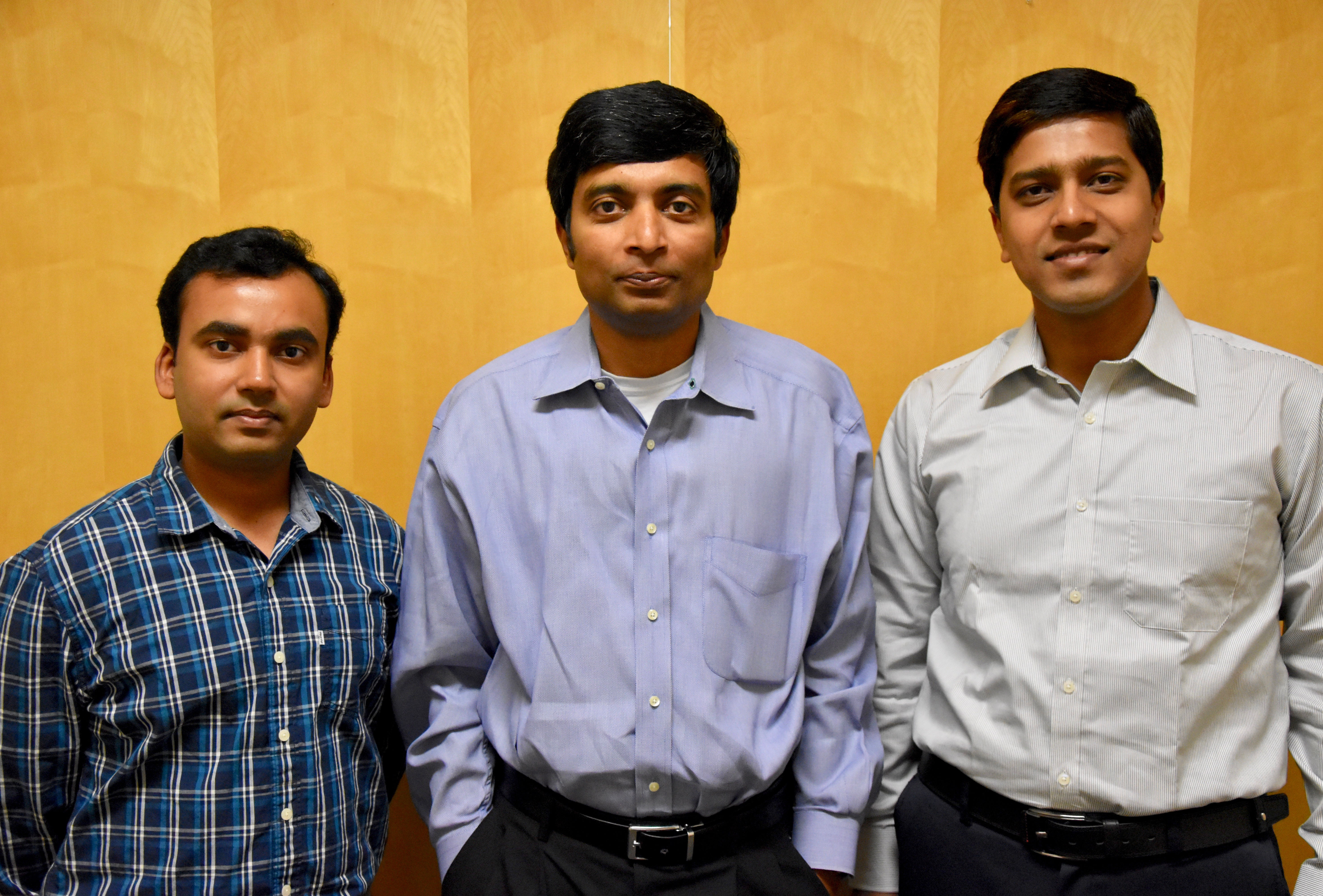 Dr. Latifur Khan & his Students, Swarpu Chandra and Ahsanul Haque