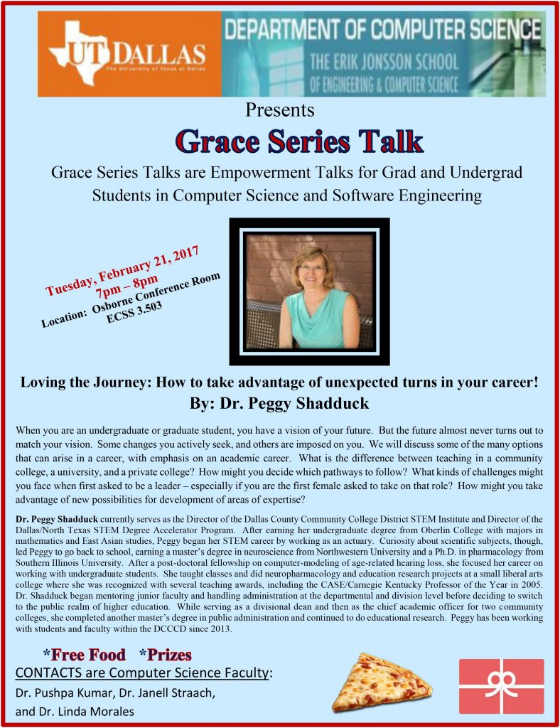 Grace Series- Prof. Peggy Shadduck copy