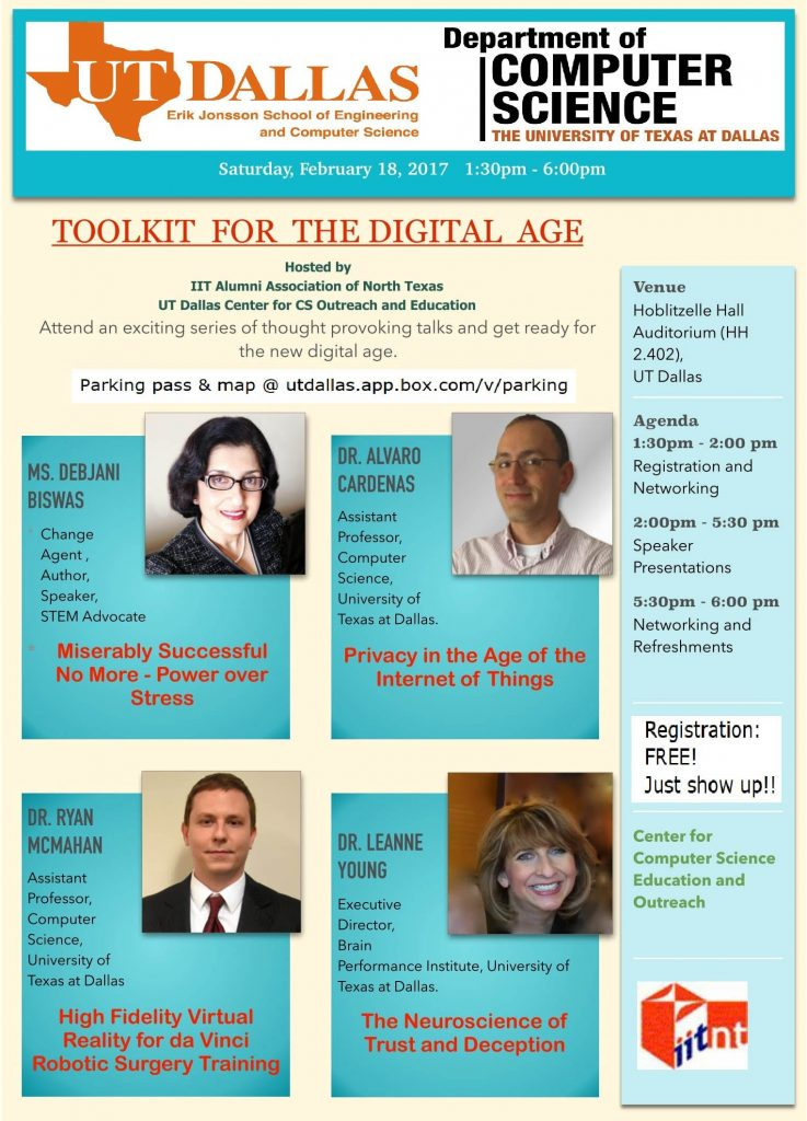 Toolkit For The Digital Age @ Hoblitzelle Hall Auditorium (HH 2.402)