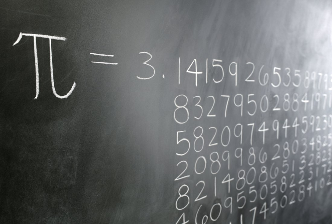 Pi Formula on Blackboard