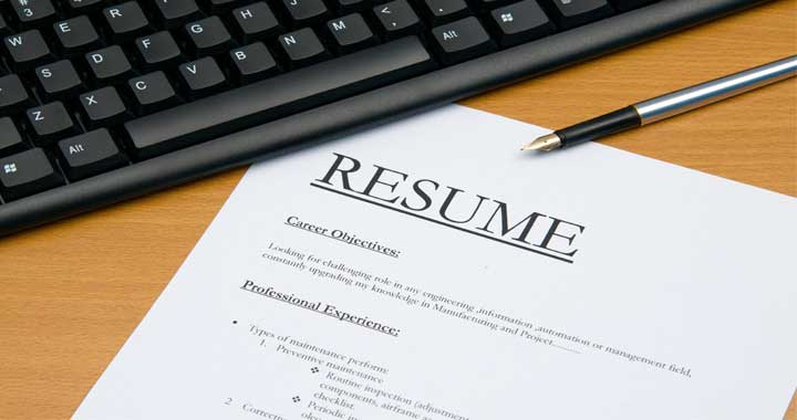 Resume Workshop – Think like a Resume Editor - Department of ...