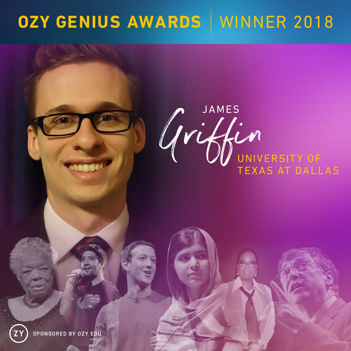 Department of computer science the university of texas at dallas computer science grad wins ozy genius award for advising app malvernweather Choice Image