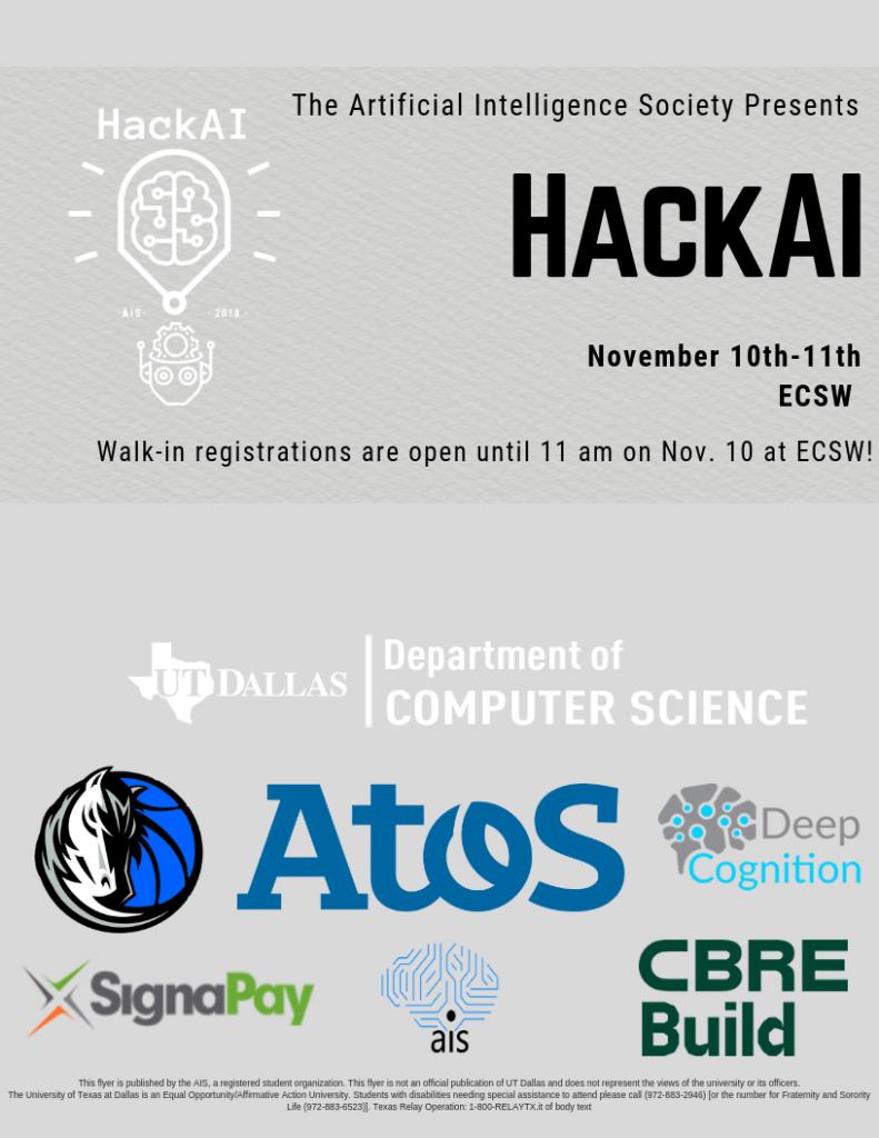 HACK AI 2018 @ ECS WEST